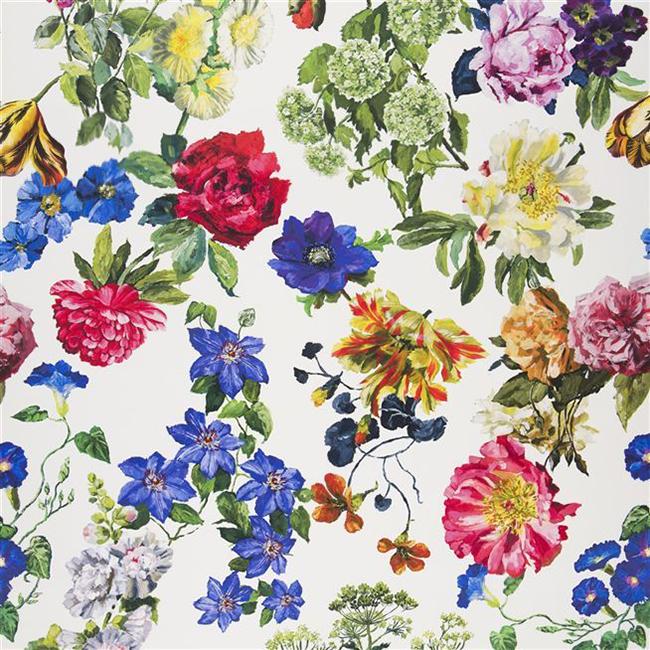 Designers Guild Alexandria Magenta Fabric