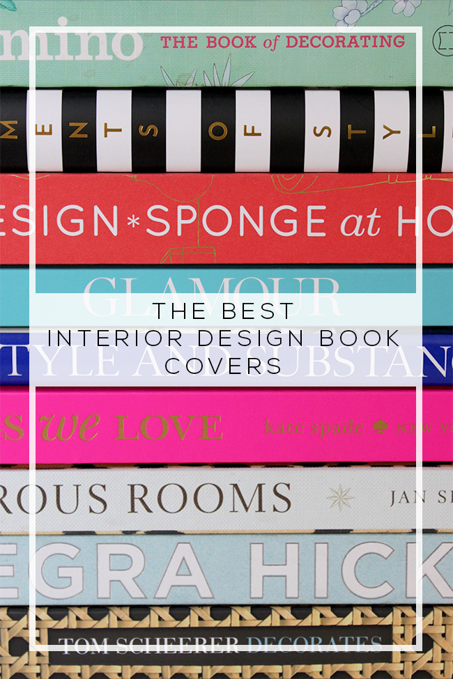 Best Interior Design Books by Cover