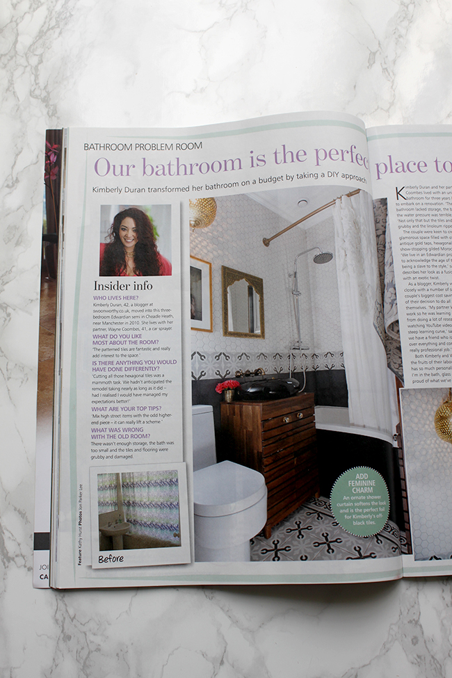 My Bathroom is in Your Home Magazine!