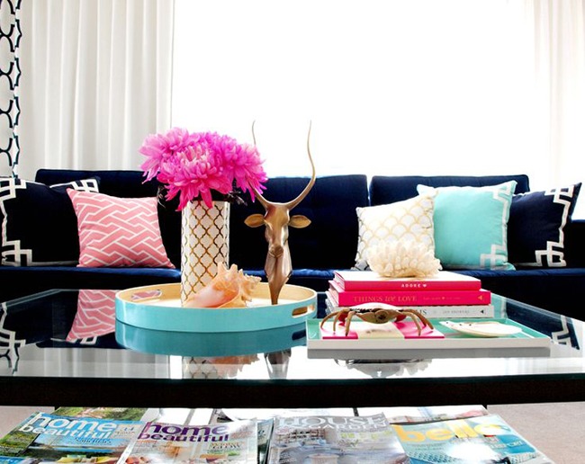 Coffee Table Vignette styling