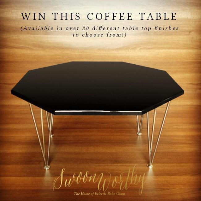 Giveaway! Hexy Coffee Table from Zespoke