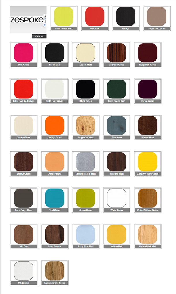 Zespoke Colour Gallery