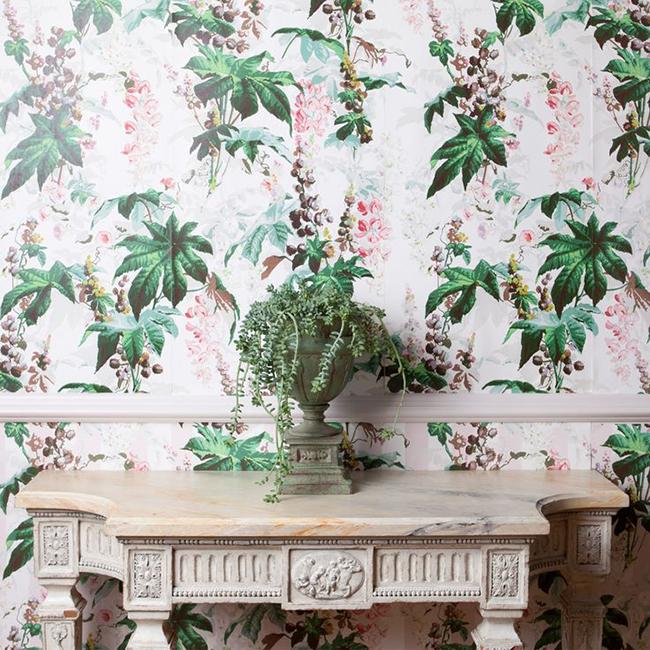 House of Hackney Castanea Wallpaper White