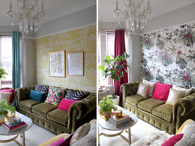 Swoon Worthy - Living room refresh