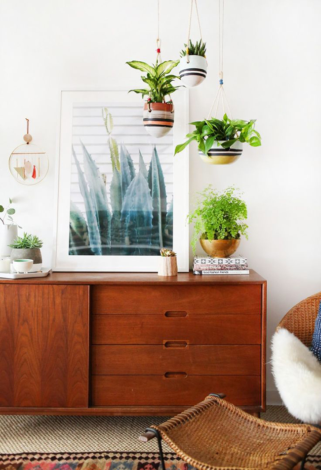 midcentury sideboard styling 6