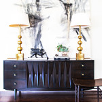 Inspired: Mid Century Sideboard Styling