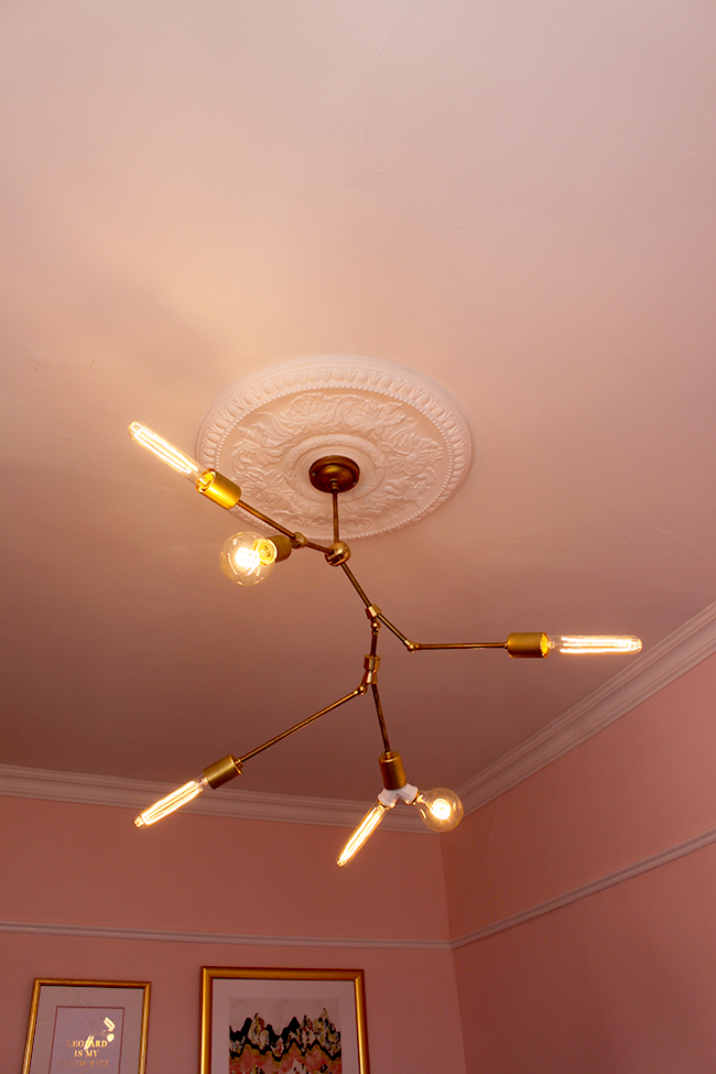 Lindsey Adelman You Make It Chandelier with Dowsing & Reynold bulbs