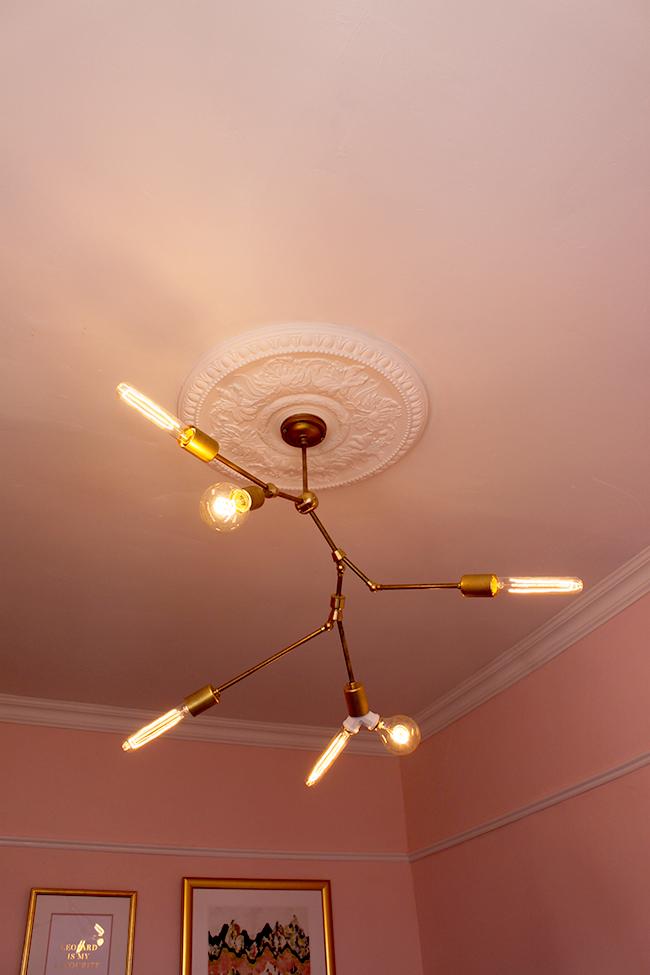 Lindsey Adelman You Make It Chandelier with Dowsing & Reynold bulbs