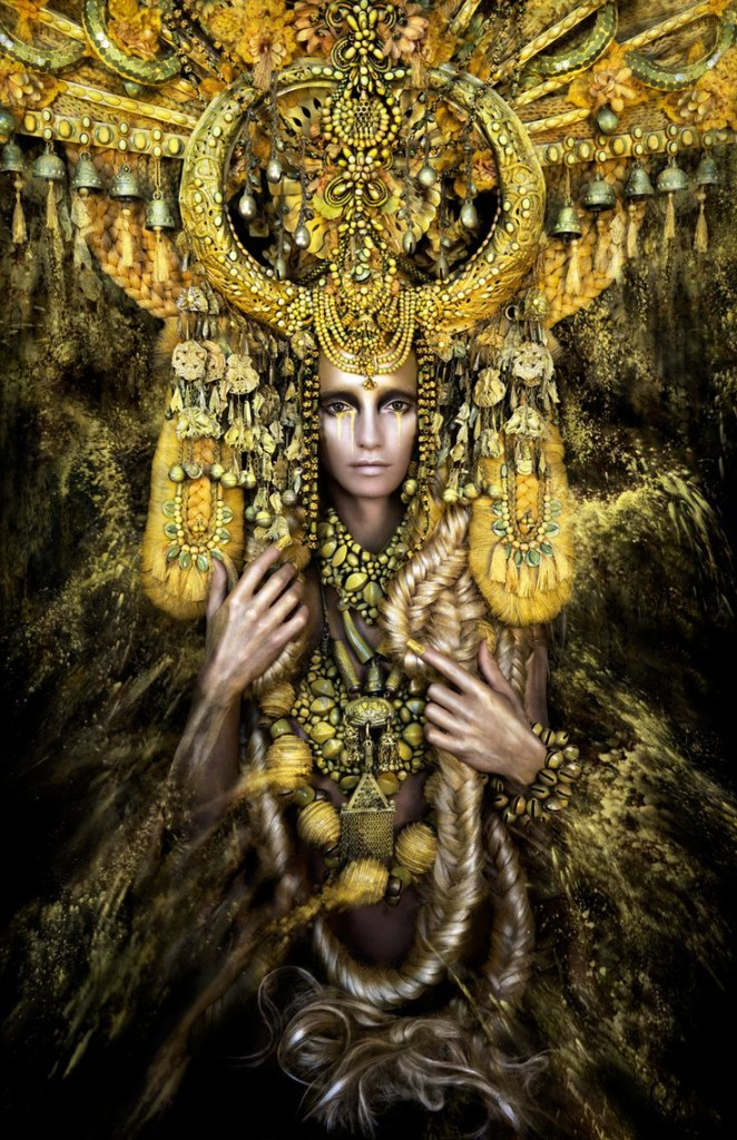 Kirsty Mitchell photography - Gaia The Birth of an End