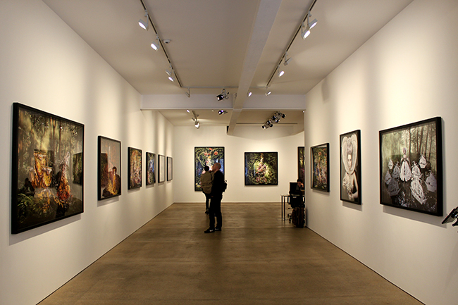 Mead Carney Gallery Kirsty Mitchell photography exhibition
