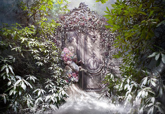 Kirsty Mitchell photography - The Fade of Fallen Memories
