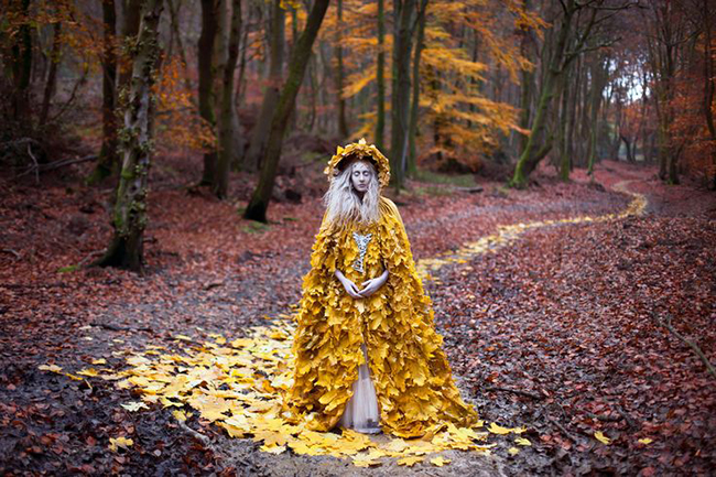 Kirsty Mitchell photography - The Guidance of Stray Souls