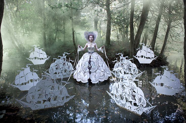 Kirsty Mitchell photography - The Queen's Armada