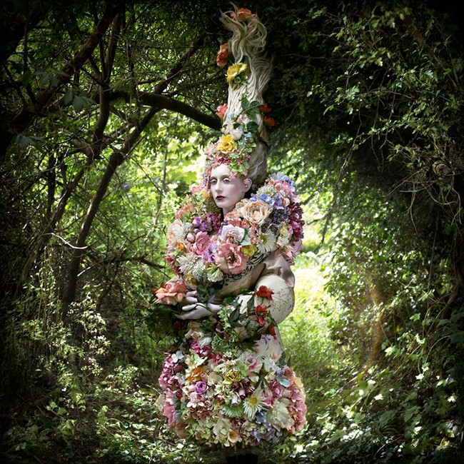 Kirsty Mitchell photography - The Stars of Spring Will Carry You Home