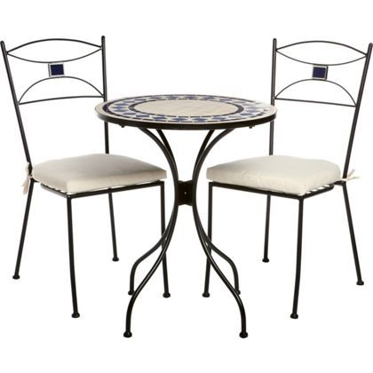 Almalfi Mosaic Bistro Garden Set from Homebase