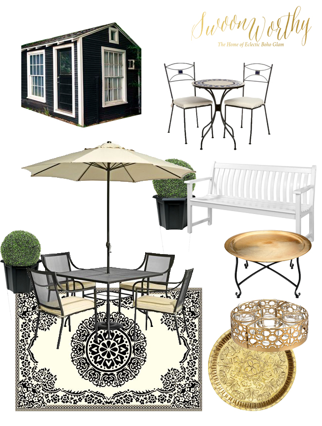 Garden Deck Moodboard so far