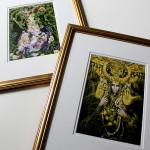 Framing Postcards as Art
