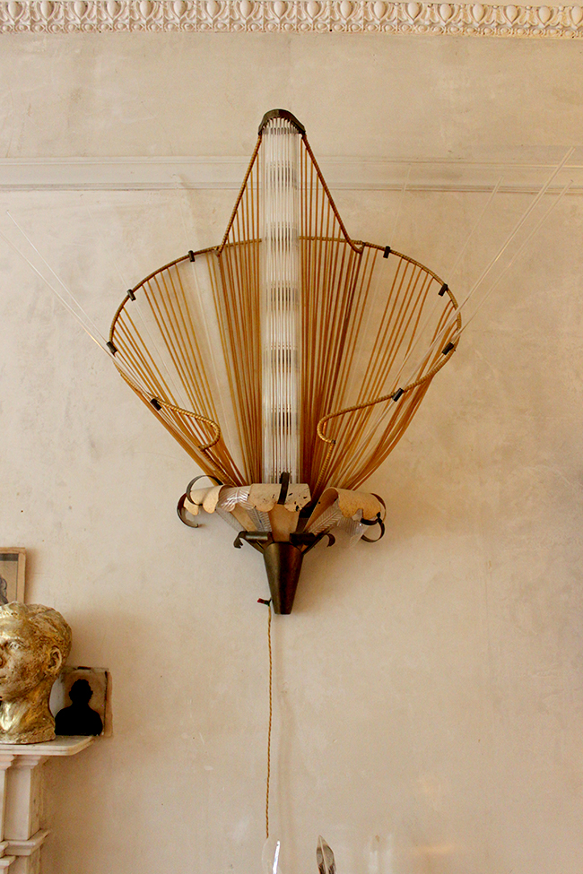 Vintage french wall light - Swoon Worthy - LivingEtc House Tour