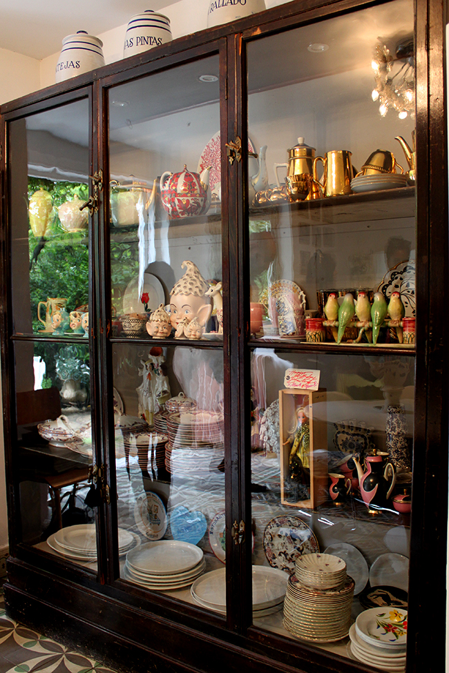 vintage display cabinet - Swoon Worthy - LivingEtc House Tour