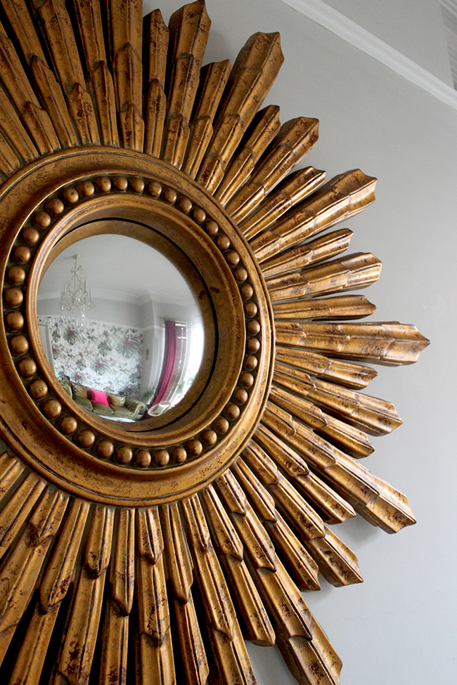Swoon Worthy - Gold Starburst Mirror