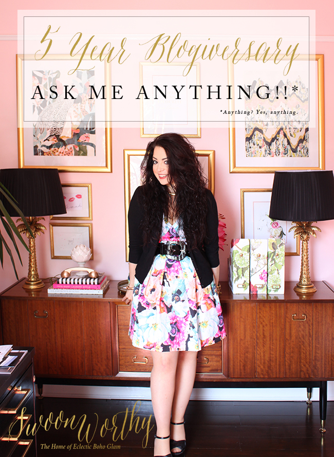 Swoon Worthy - Ask Me Anything