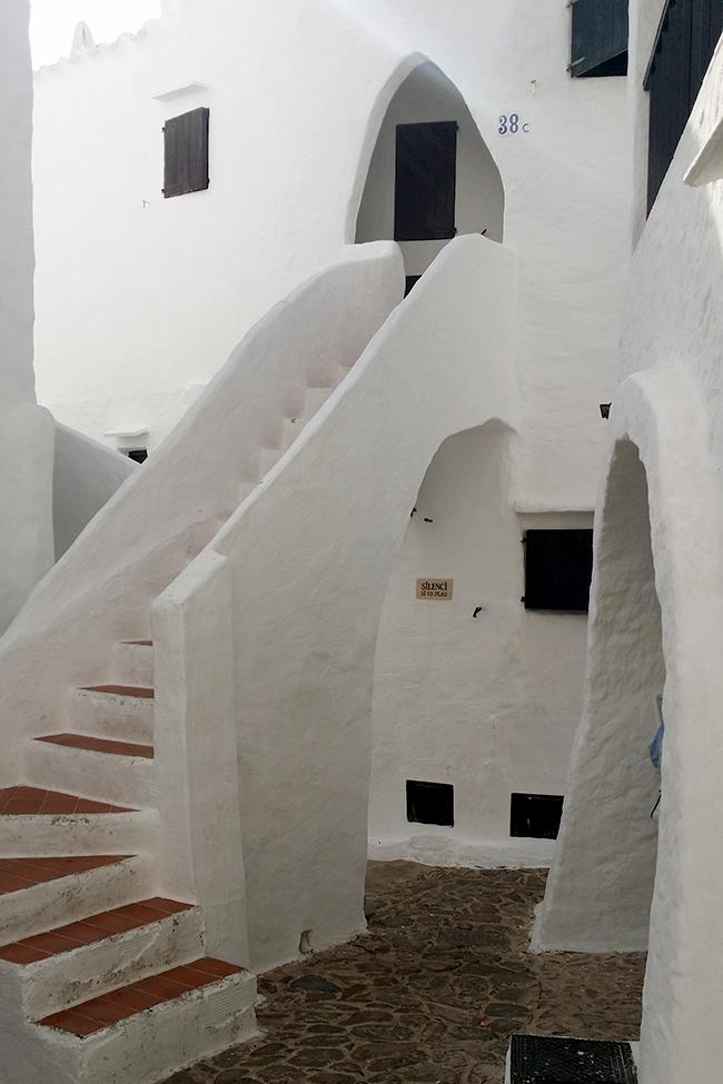 Binibeca Vell Menorca buildings 4