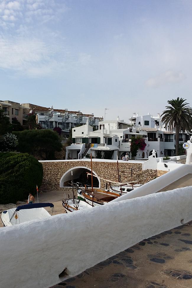 Binibeca Vell Menorca buildings