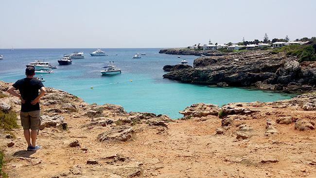 Binibeca Vell Menorca cove