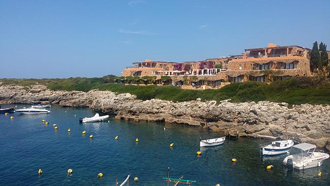 Binibeca Vell Menorca fishing