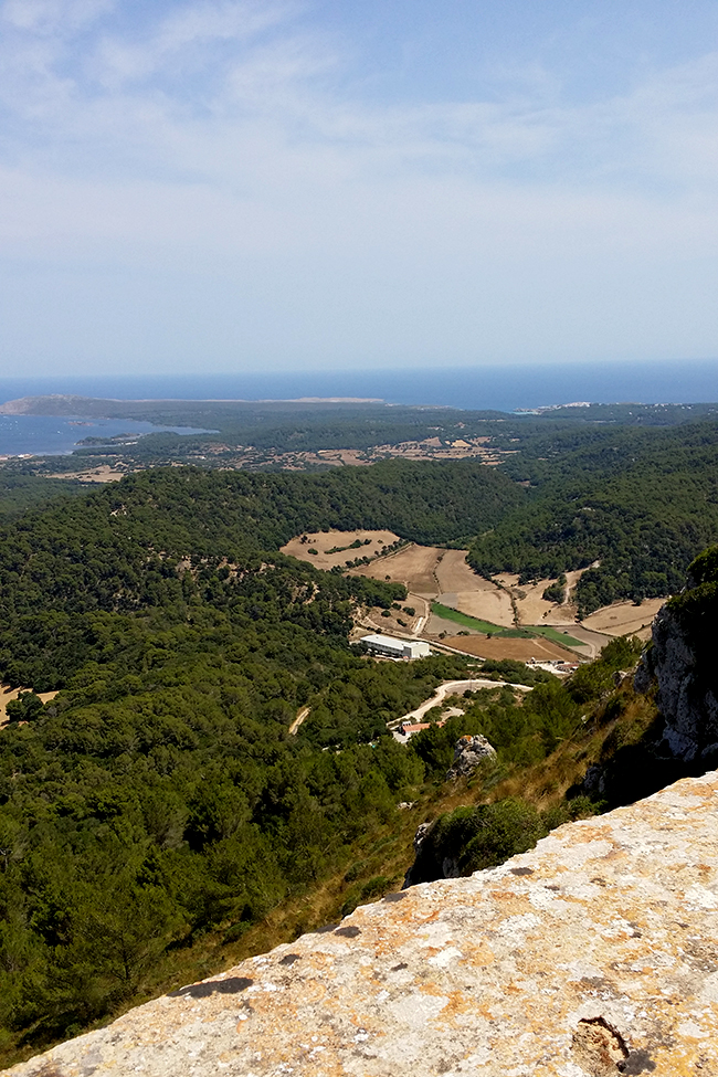 Monte Toro Menorca view