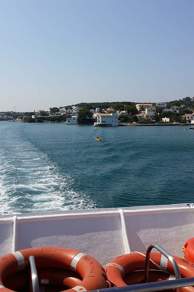 Our boat trip in Menorca 2