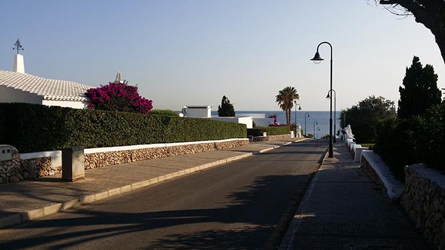 Binibeca Menorca street