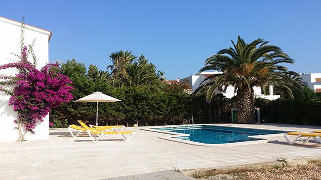 Menorca pool villa