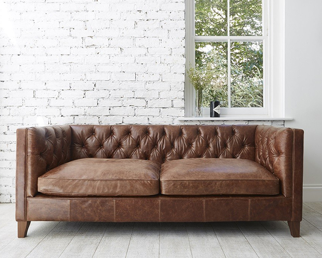 Edward chesterfield sofa from Darlings of Chelsea