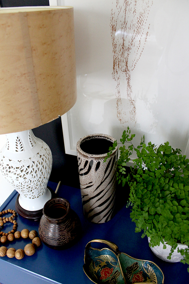 Check out my tips on how to Style a Bedside Table with a Natural Organic look