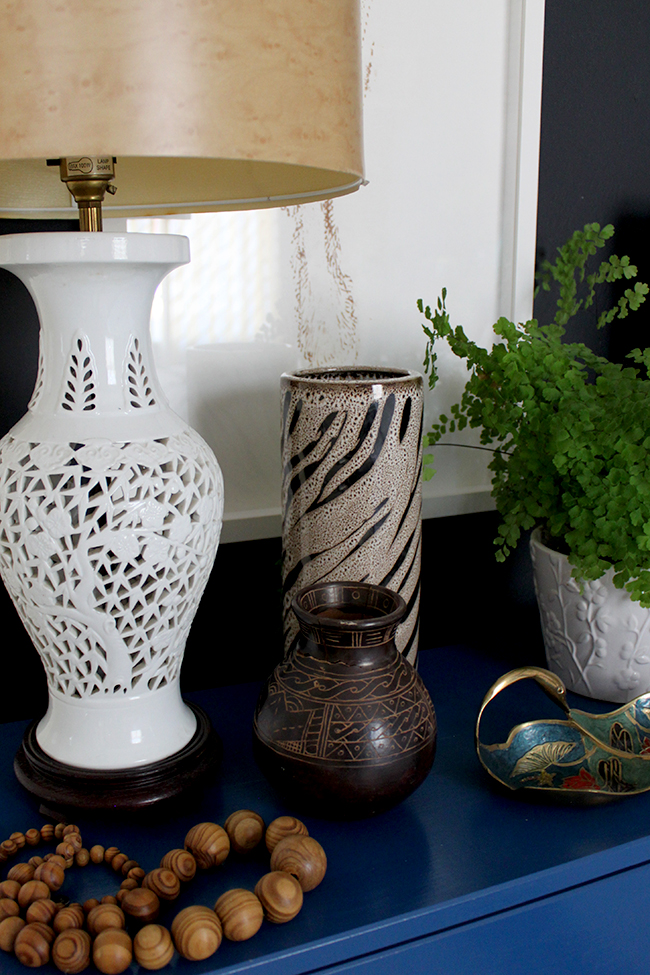 Follow my tips to find out how to Style a Bedside Table with a Natural Organic feel.