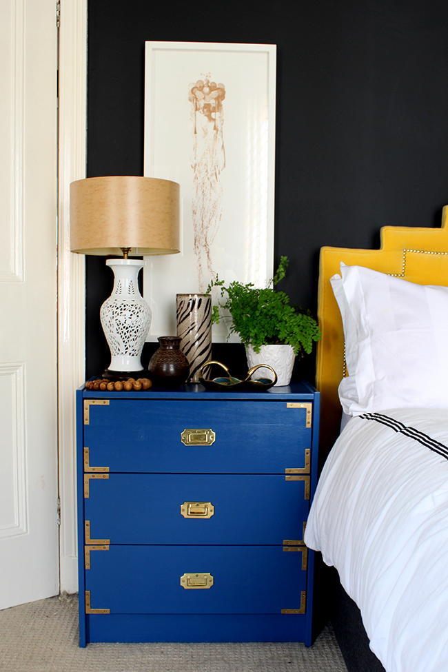 How to Style a Bedside Table - Natural Organic