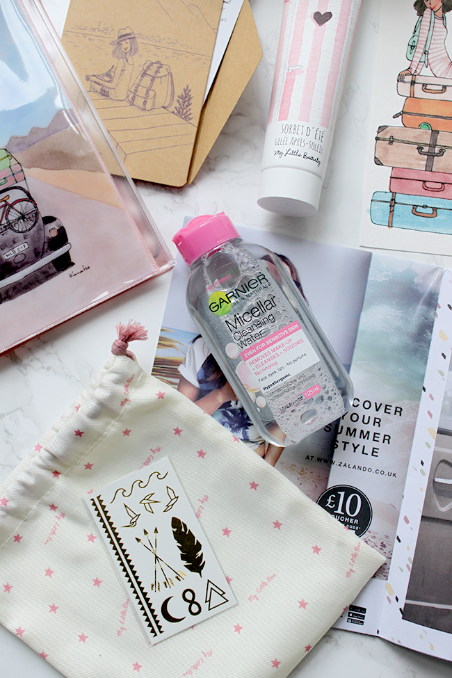 My Little Box Review Jul contents 2