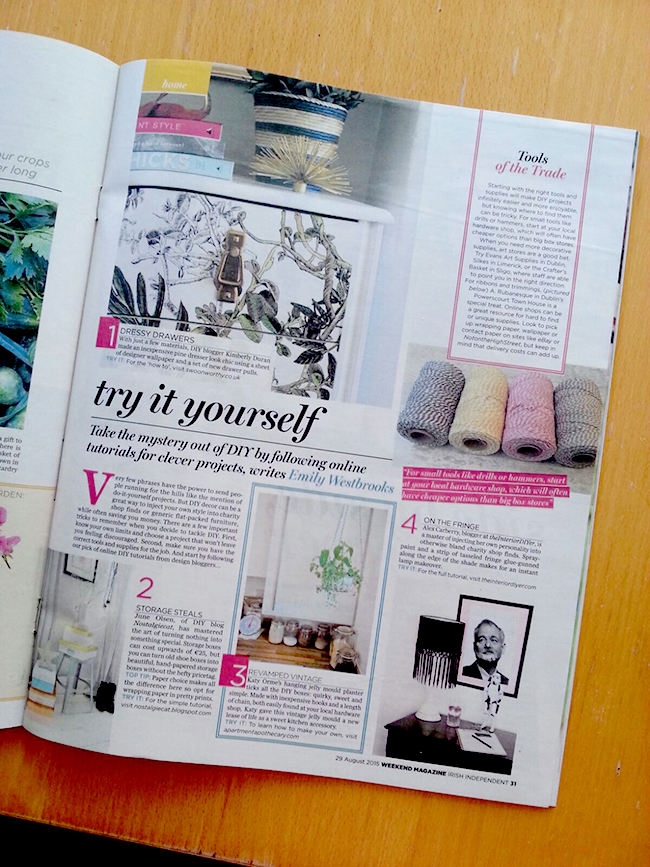 The Irish Independent lifestyle mag - Swoon Worthy
