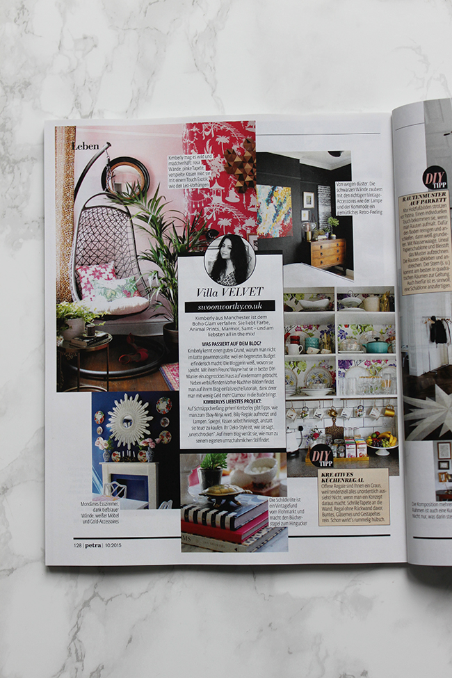 Petra Magazine Feature Swoon Worthy