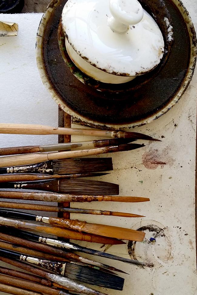 Porzellan Manufactur Nymphenburg paint brushes