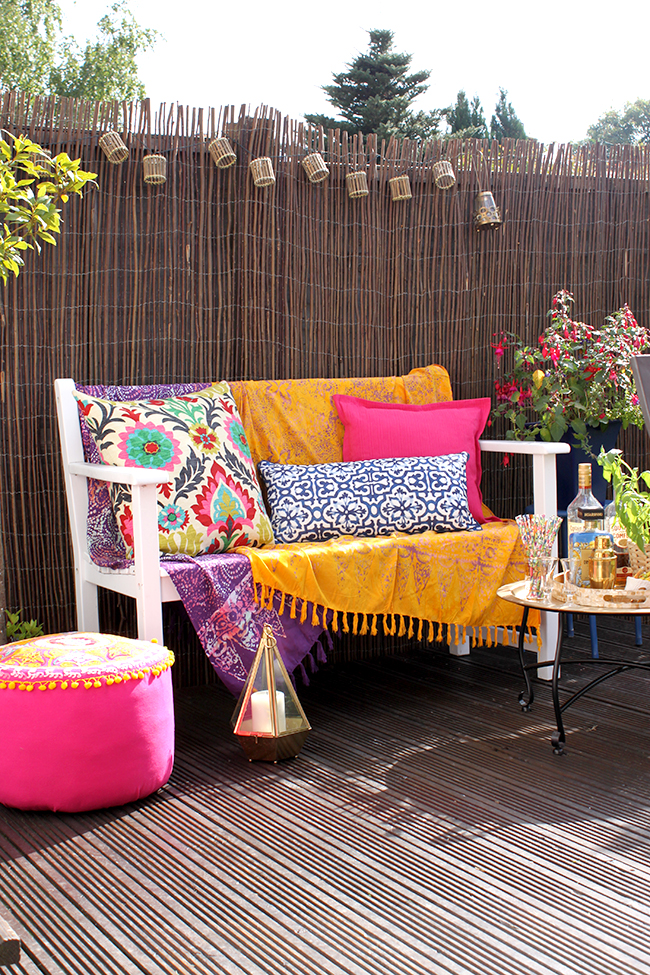 Garden Refresh: Boho Glam Garden Reveal!
