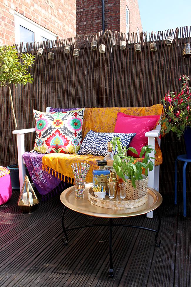 Garden Refresh Boho Glam Garden Reveal Swoon Worthy