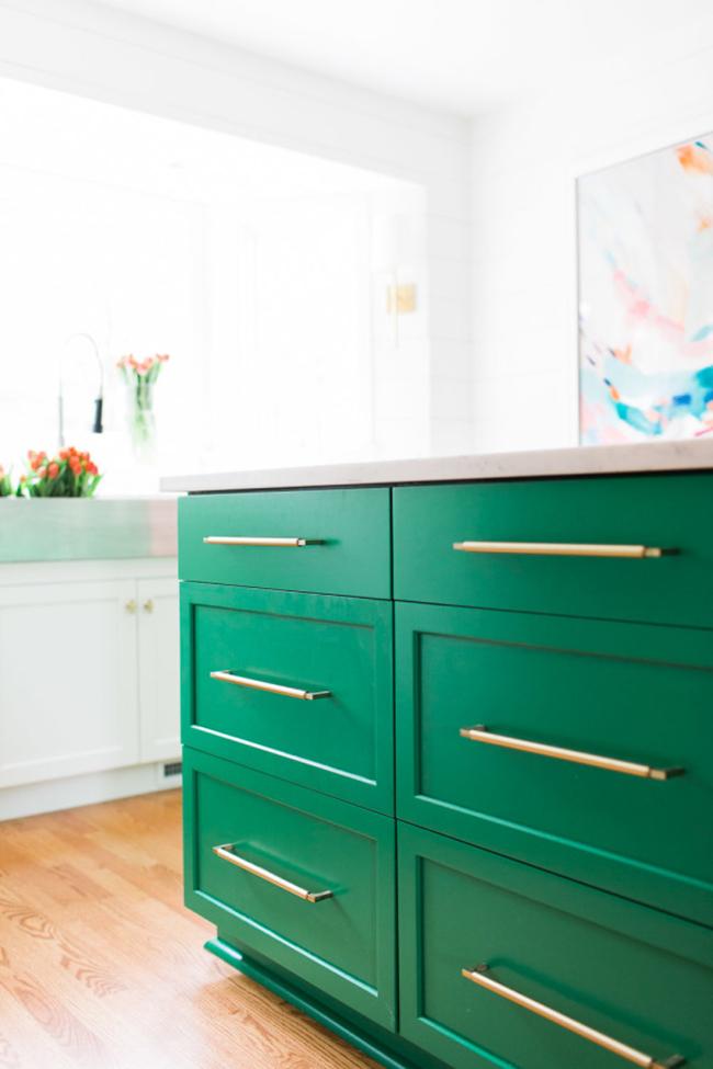 green kitchen 3