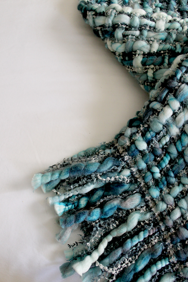 Swoon Worthy - woven through in blue shades from Within