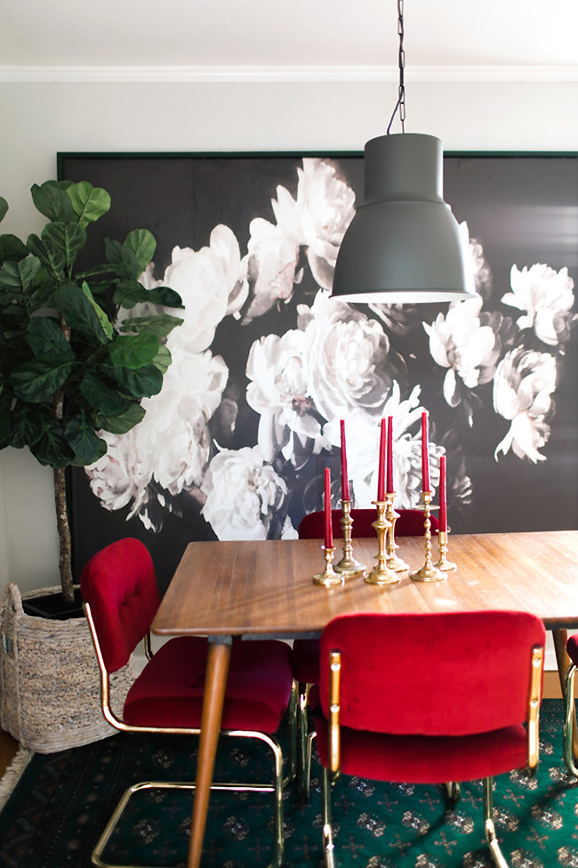 Claire Brody Designs dining room