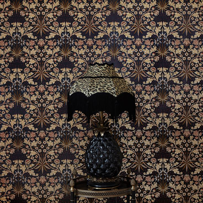 hyacinth wallpaper house of hackney