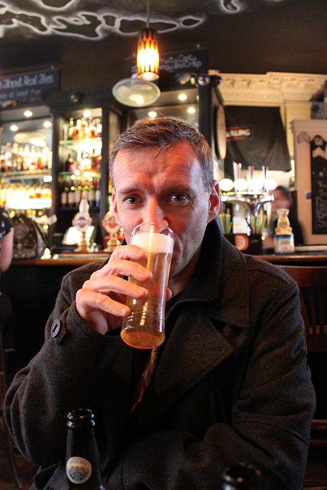 Castle Arms pub Edinburgh Wayne