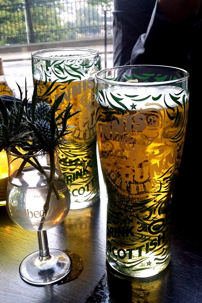 Innis and Gunn pale ale