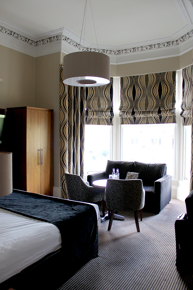 The Dunstane our room - seating area